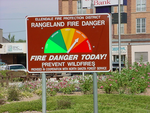 Please see link below for current Fire Danger Index